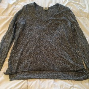 Old Nave grey sweater